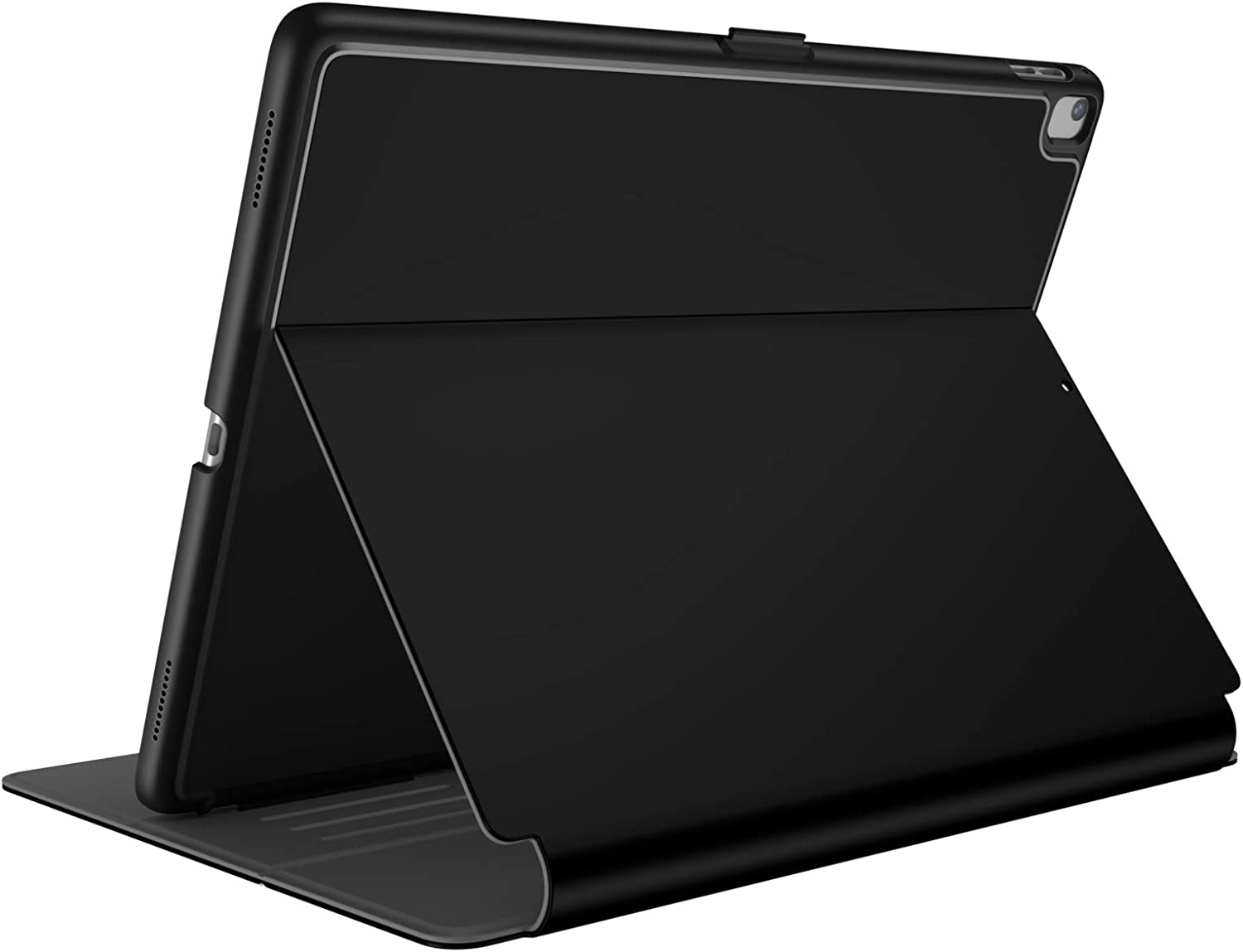 Speck Products 121950-B565 Stylefolio fits the 9.7-Inch iPad Pro (2017/18), iPad Air, and iPad Air 2 Black/Slate Grey