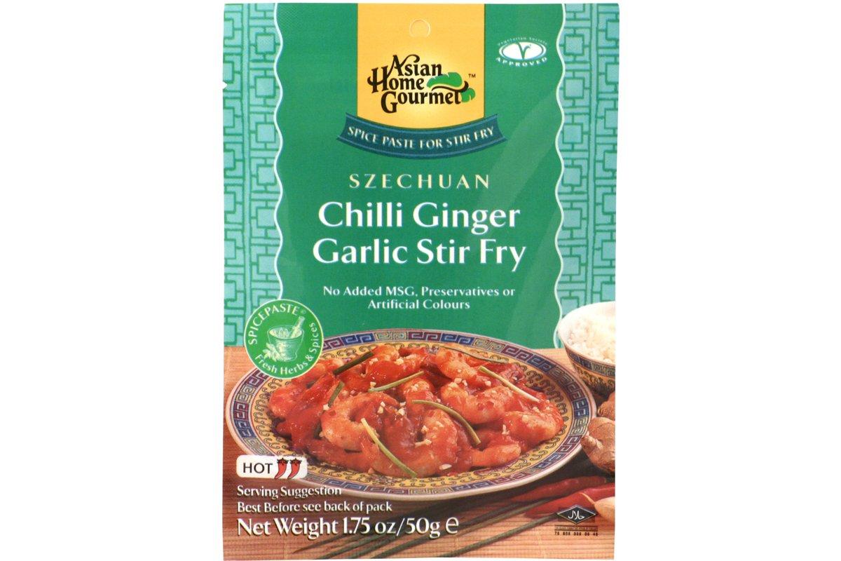 Amazon.com : Asian Home Gourmet Spice Paste for Stir Fry: Szechuan ...