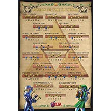 "The legend of Zelda Poster Songs of the Ocarina (24""x36"")"