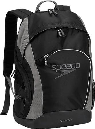 Speedo Sonic mochila - 7520112-Black/Darkgull Grey, 25-Liter, Negro/gris oscuro: Amazon.es: Deportes y aire libre