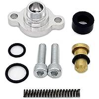 13301 Universal Bypass Fuel Pressure Regulator 3 Port 3//8 Thread Line Red/& Black