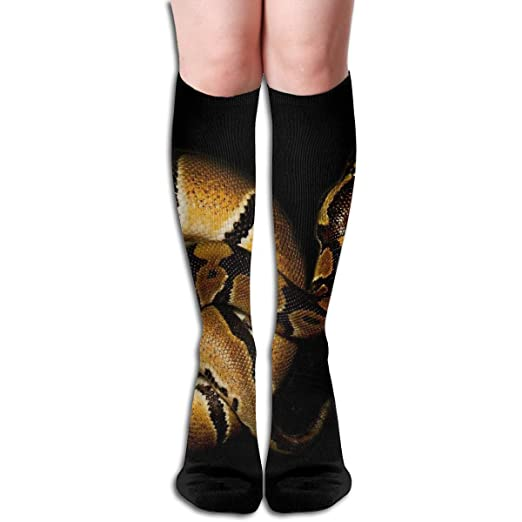 good texture new authentic to buy Amazon.com: Colorful Space Snake Socks Long Sport Stockings ...