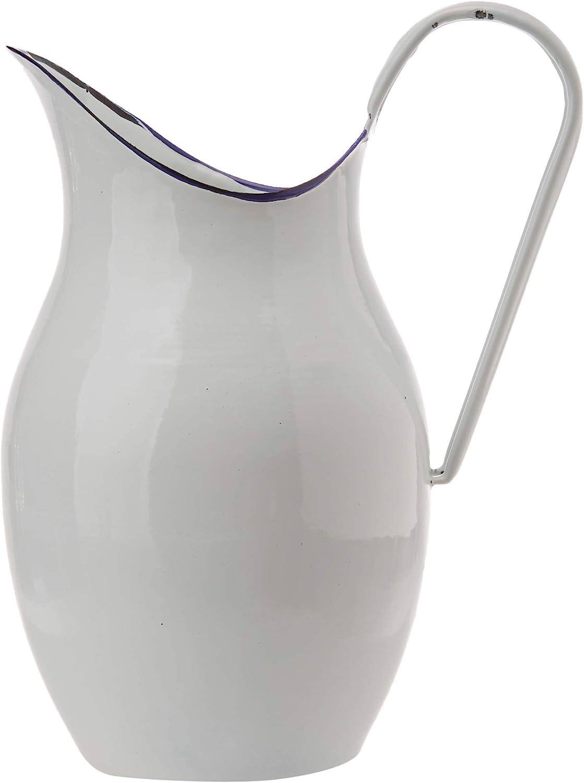 Blanco 640 38 cm IBILI Jarra Acero esmaltado