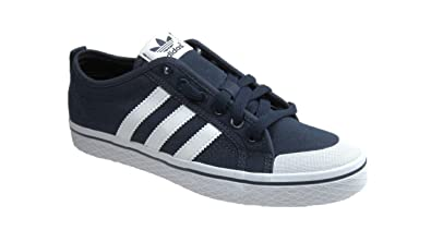 info pour f9fa9 e954f ADIDAS ORIGINALS HONEY LOW W LADIES TRAINERS NAVY WHITE SIZE ...