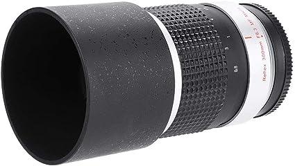 EBTOOLS Lentes de telefoto 300mm f6.3 APS-C, Accesorio de cámara ...