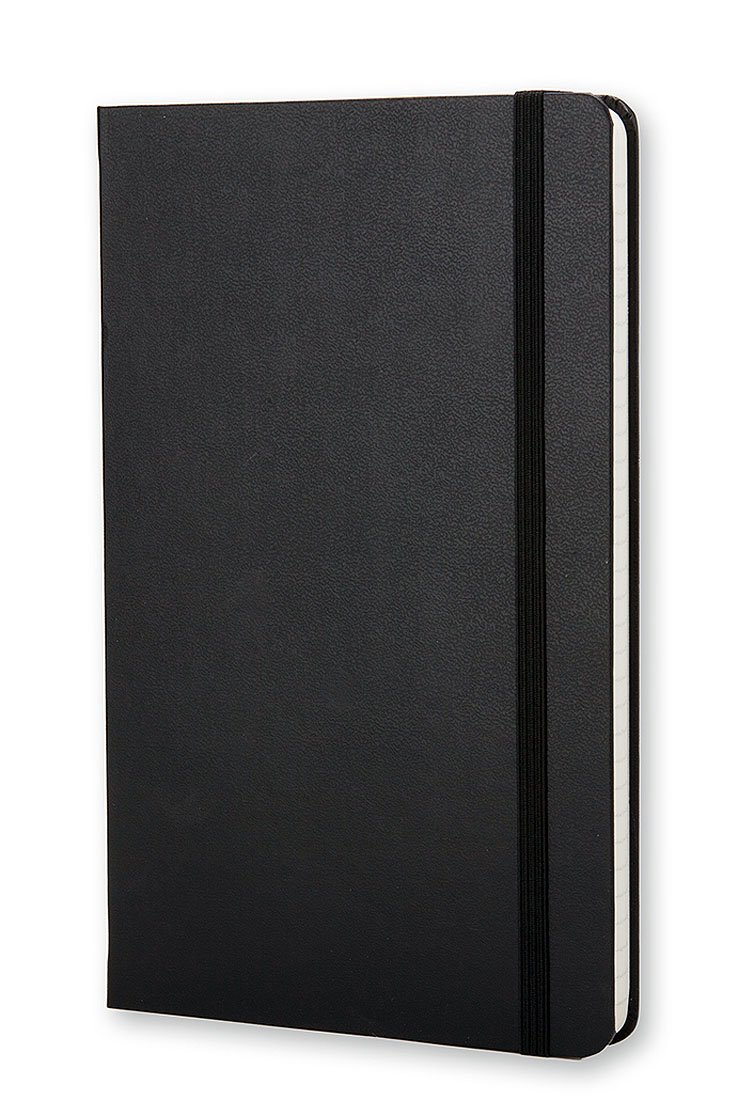 Moleskine Classic Notebook Large (5 x 8.25''), Ruled Pages, Black, Hard Cover Notebook for Writing, Sketching, Journaling by Moleskine (Image #4)