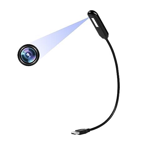 Telecamera nascosta Lampada da tavolo 1080P Mini Videocamera ...