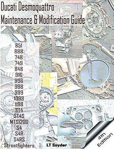 Desmo Times 4Th Edition Ducati Desmoquattro Maintenance   Modification Service Guide   Workshop Repair Manual