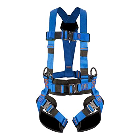 Fusion Climb Skylux Full Body Adjustable Bungee Harness 23kN M-L Blue