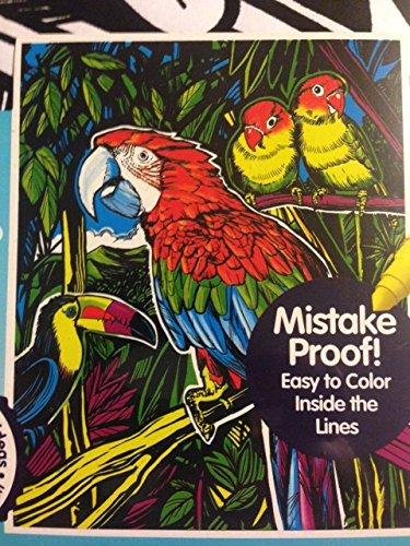 Amazon.com: Parrot 16 X 20 Color Your Own Jumbo Velvet Poster: Toys ...
