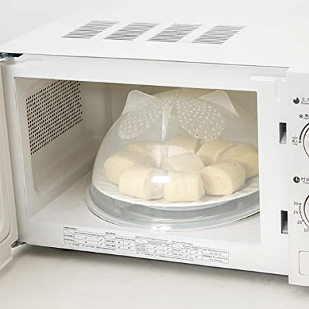 Microondas tapa para alimentos, xshuai con agujero para ...