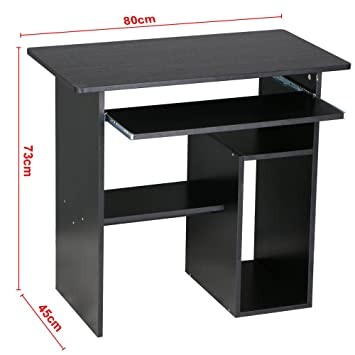 Beyondfashion Unique Design Study Computer Desk Pc Table Suitable