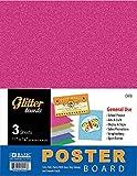Glitter Poster Board (3 Pack)