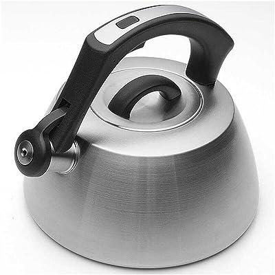 Bouilloire ZHAOJING Gaz 304 en Acier Inoxydable Whisper 3L gaz Cuisinière Universal Kettle