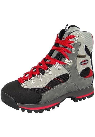 best sneakers df260 7a223 Lackner men and mens hiking shoes 6708 MAKALU TX GreyRed, Lackner Schuhe  Damen EUUK39 (6.5 UK) Amazon.co.uk Shoes  Bags