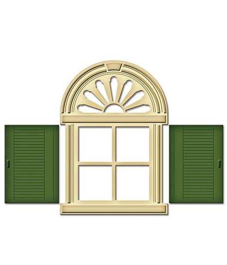 Spellbinders - Plantilla para troquelado, diseño de ventana y contraventana