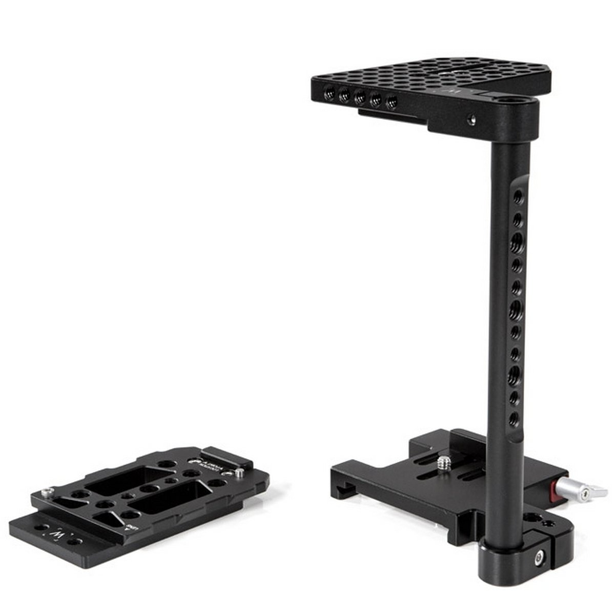 Wooden Camera 162900 | Height Adjustable Quick Cage for Large DSLR Cameras by Wooden Camera
