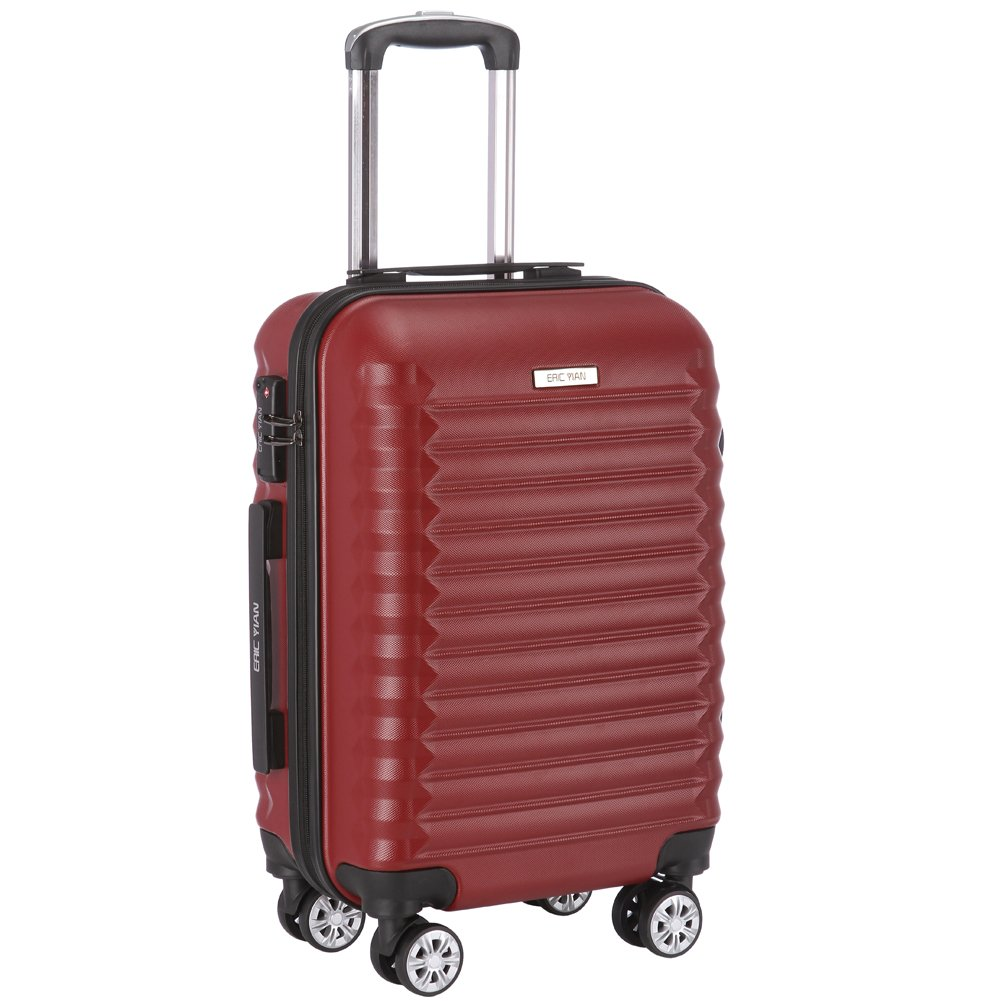Luggage Set 3 Piece ABS Trolley Suitcase Spinner Hardshell Lightweight Suitcases TSA by ERIC YIAN (Image #2)