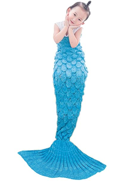 Knitting Patterns Mermaid Tail Blanket Super Soft Fashion All