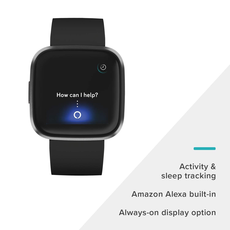 Amazon.com: Fitbit Versa 2 Health & Fitness Smartwatch ...
