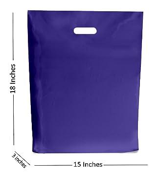 MustBeBonkers 100 Grande Azul Marino Bolsas de Plástico ...