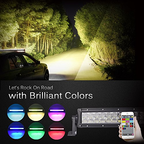 Top 10 Best Bluetooth LED Light Bars Reviews 2019-2020 cover image