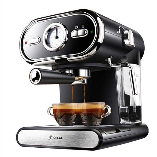 LinZX Máquina de café Espresso máquina semiautomática del café ...