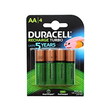 8b0c4e03008 Duracell Rechargeable Accu 2400 mAh AA Batteries - 4: Amazon.co.uk ...