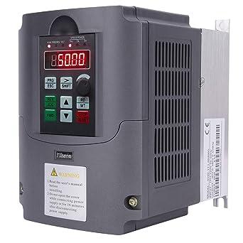 220V Monofase A Trifase VFD Inverter Frequenza Variabile Motore Drive da 5,5 KW