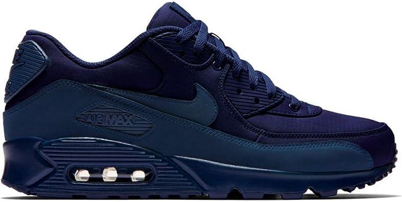 caballo de fuerza Acelerar No esencial  Zapatillas Nike – Air MAX 90 Essential Azul/Azul Talla: 40: Amazon.es:  Zapatos y complementos
