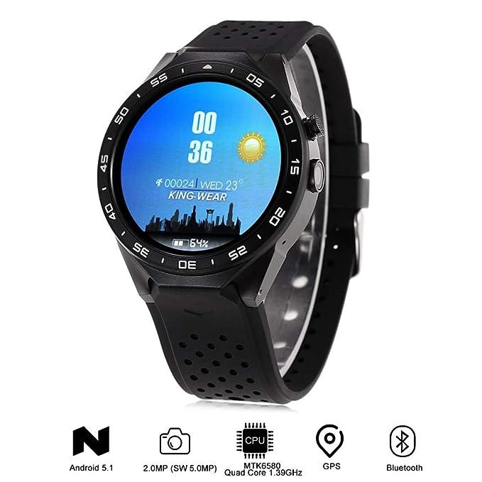 HOYHPK Pantalla 3G Smartwatch Teléfono 4Gb GPS Podómetro Smart ...