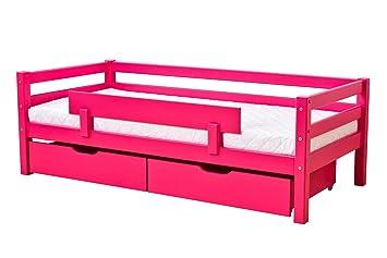 Hoppekids Barrière de sécurité pour lit enfant 70x160 PINK: Amazon ...