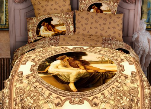 Dolce Mela DM422K Amanti King Duvet Cover Set