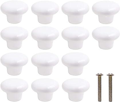 Ceramic Dresser Knobs Cabinet Pulls Hardware Kitchen Cabinet Knobs Ceramic Drawer Knobs White Set Of 11 Porcelain Drawer Pulls