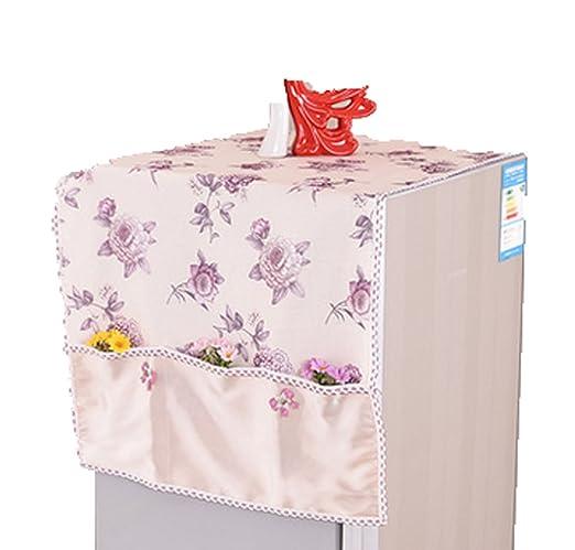 En Posición Vertical El Polvo Del Refrigerador Toalla De Tela ...