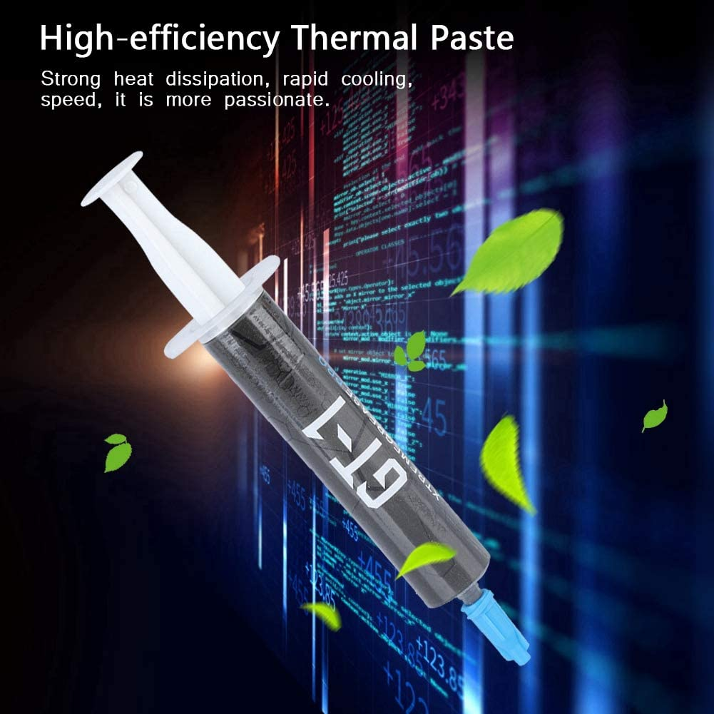 PC Cooler PC Silver-Bearing Thermal Grease CPU//Graphics//Notebook Cooling Grease Wendry Thermal Compound Paste for Coolers 8G
