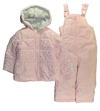 0b0ef2e59 Carter's Just One You by Little Girls Pink Star Print Two-Piece Snowsuit (4T