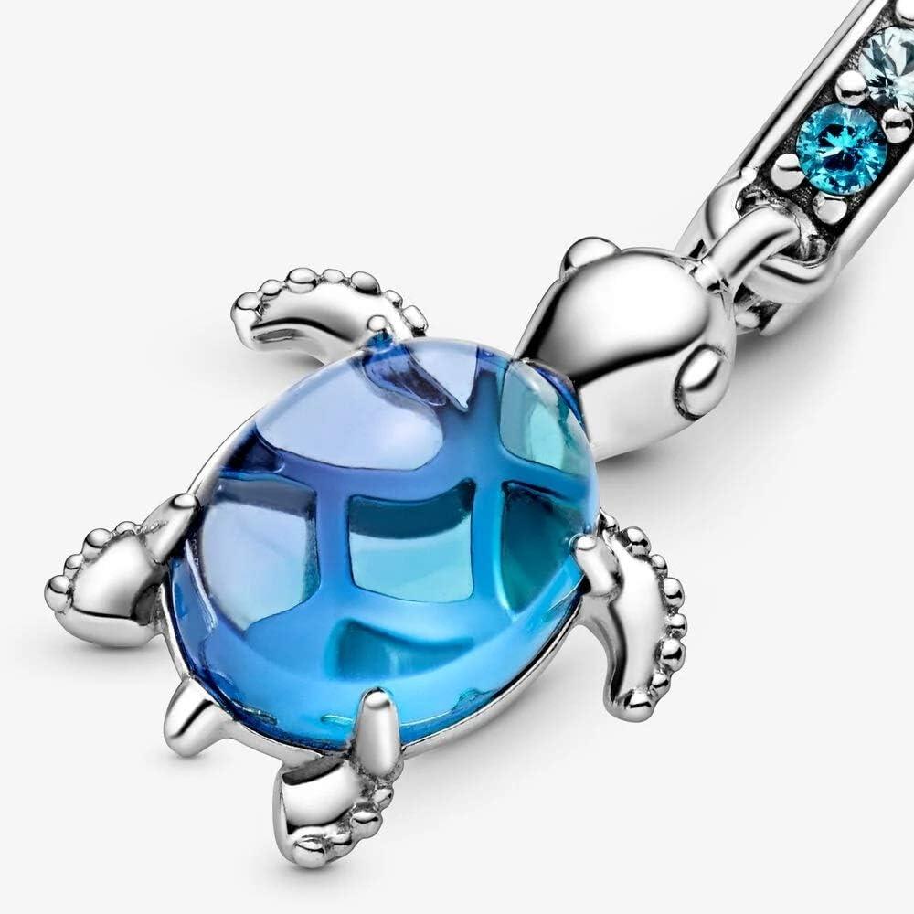 Breloque en verre de Murano - Motif tortue de mer: Amazon.fr: Bijoux