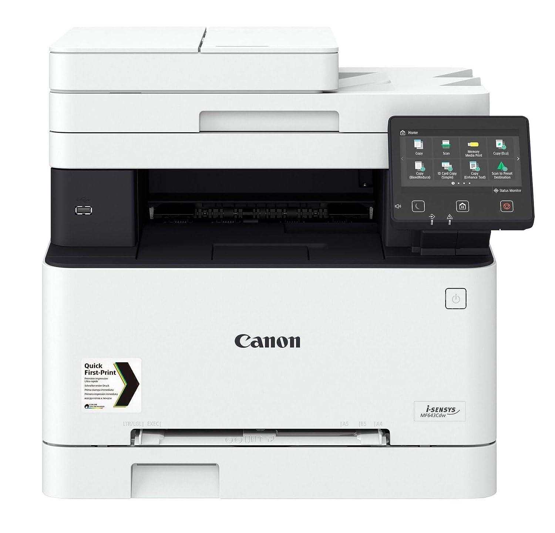 Canon i-SENSYS MF643Cdw Laser 21 ppm 1200 x 1200 dpi A4 WiFi ...