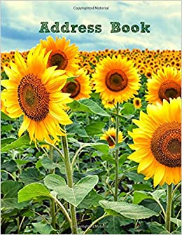 Address Book: Volume 75 (Extra Large Address Books-Summer Series)
