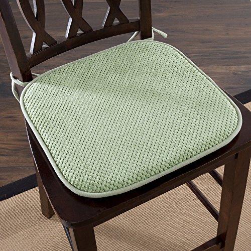 Lavish Home Chair Pad - Green by Lavish Home (Image #1)
