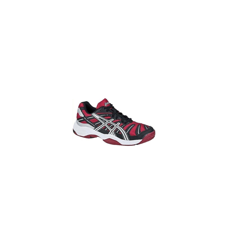 Asics - Zapatillas de Tenis de Material Sintético para niño Rojo ...