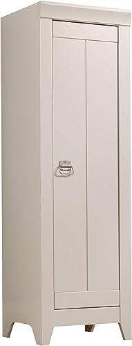 Sauder Adept Storage Narrow Storage Cabinet, Cobblestone finish