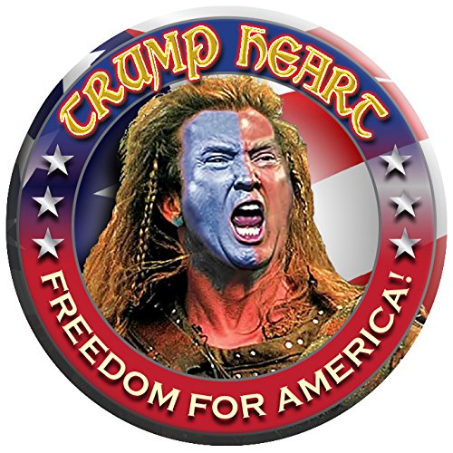 6-pack-trump-heart-brave-heart-buttons-pins-badges-fighting-for-our-freedoms-like-william-wallace-ne