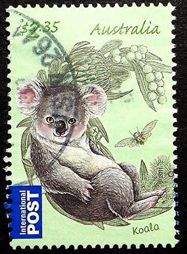 Australia Magnetic Photo Frame Features Australia Koala Heart I Love
