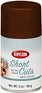 Krylon KSCS035 Short Cuts Aerosol Spray Paint, 3-Ounce, Espresso