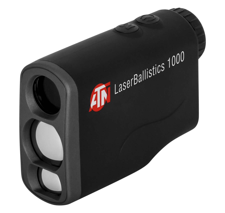 ATN Laser Ballistics 1000 Smart Laser Rangefinder w Bluetooth, Device Works with Mil and MOA scopes Using Ballistic Calculator App