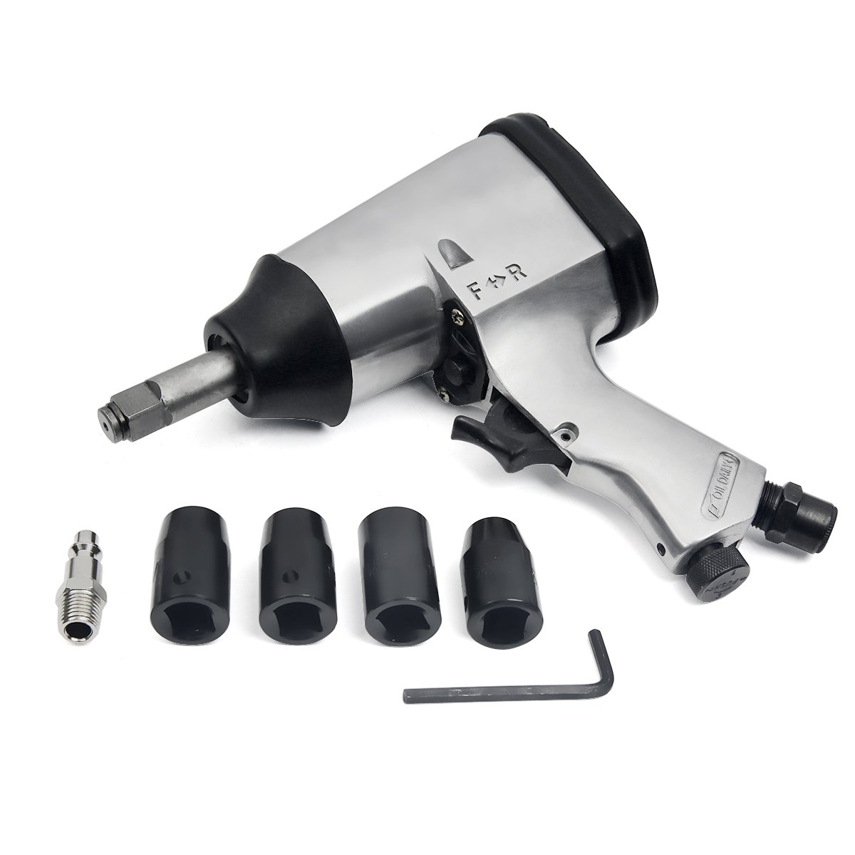 1/2'' LG-Shank Air Impact Wrench