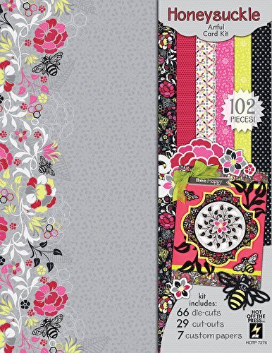Hot Off The Press - Honeysuckle Artful Card Kit