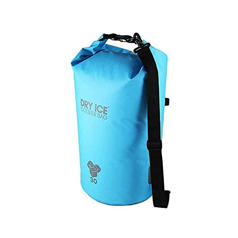 Dry Ice Cooler Bag Nevera Portátil 30 Litros Turquesa Impermeable ...